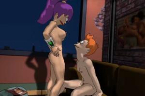Futurama v porno filmu